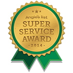 Angie's List 2014 Super Servoce Award